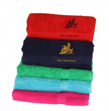DRAGON BATH TOWEL